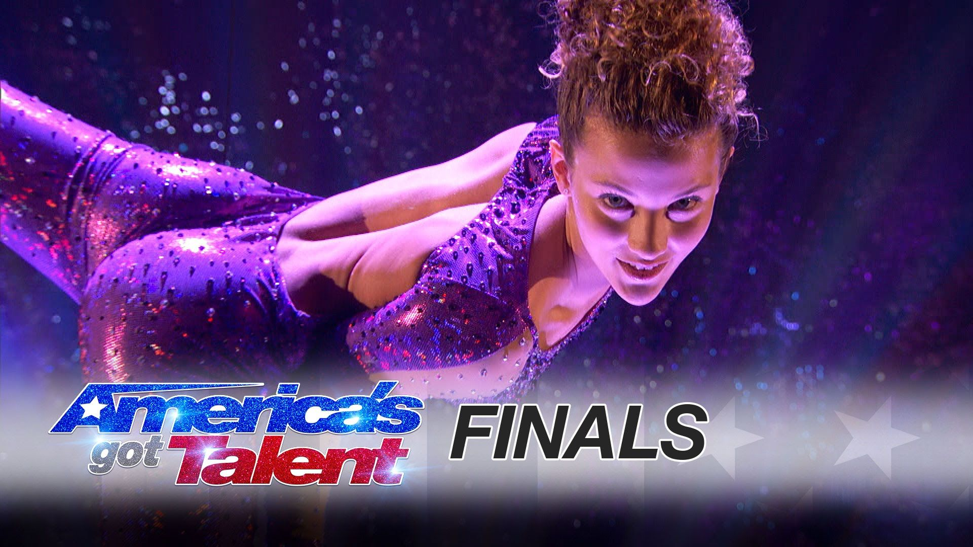 Sofie dossi from america s got talent pulls off an amazing routine for her finale performance - Sofie dossi gymnastics ...