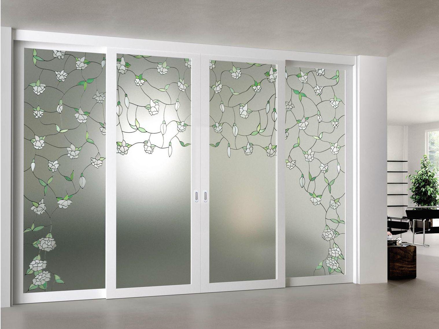 Puertas De Vidrio Glass Desing Pinterest Puertas De Vidrio Y  ~ Puerta Corredera Cristal Exterior