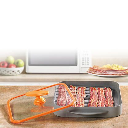 Bacon Boss Microwave Bacon Cooker  alternate image