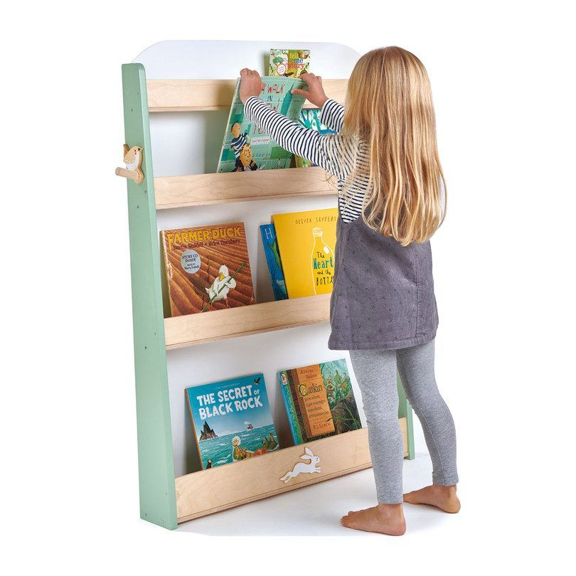Bookshelf Xiaomei Solid Wood Children S Bookcase Wall Hanging