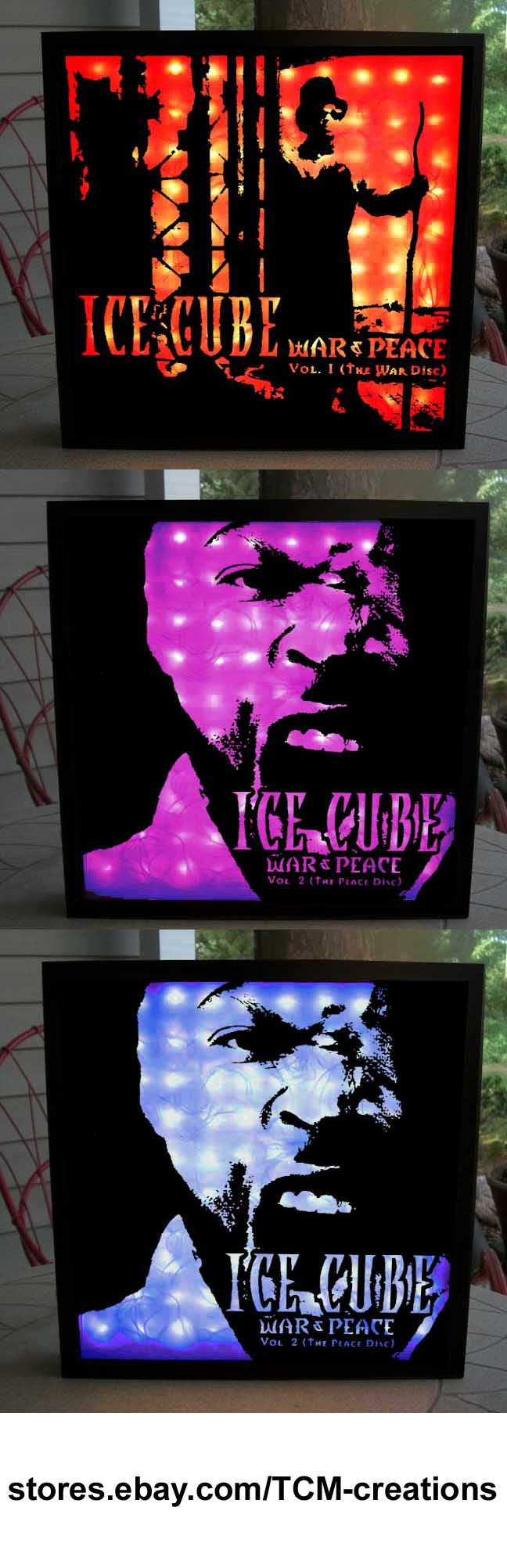 Ice cube shadow boxes with led lighting amerikkkas most wanted ice cube shadow boxes with led lighting amerikkkas most wanted death certificate the 1betcityfo Choice Image