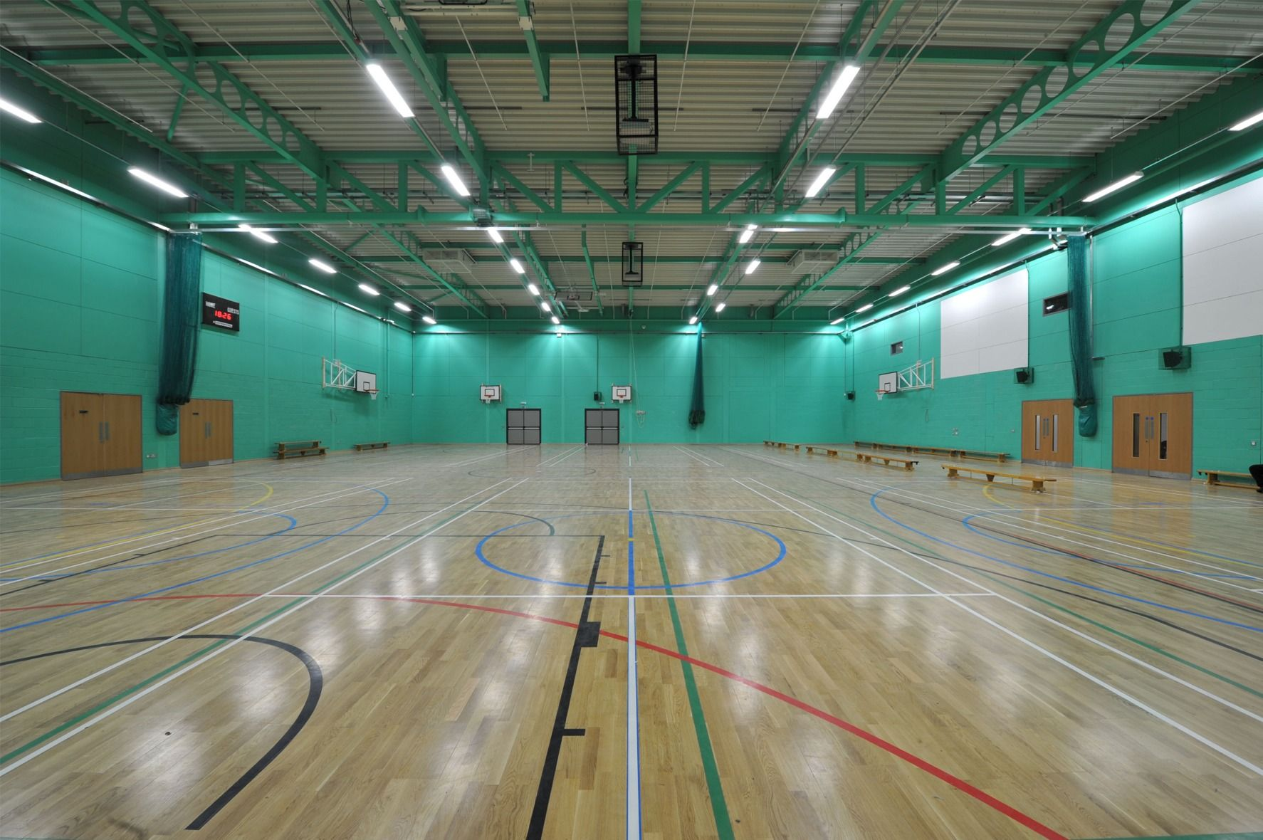 New 28m Academy Lit By Luxonic Architecture Landmark Academy Lighting Solutions
