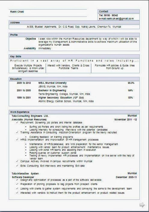 curriculum vitae download free Sample Template Example of - is a cv the same as a resume