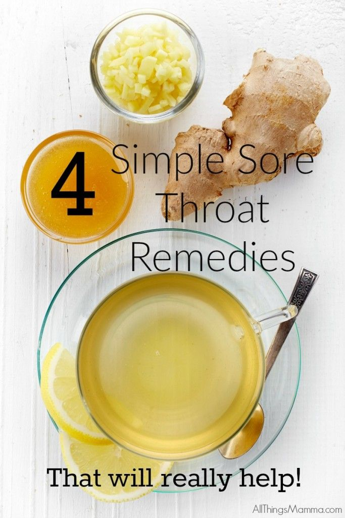 4 Simple Sore Throat Remedies | OLD TIMERS | Sore throat