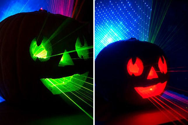 Bring the laser light show to your next halloween party - Halloween laser light show ...