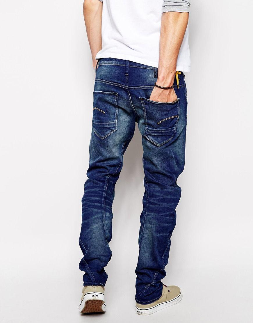 6642ce24ba7 G Star Jeans Arc 3d Slim Fit Firro Medium Aged Back | My G-Star RAW ...