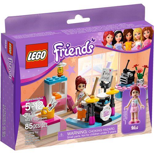 Lego Beach House Walmart: LEGO Friends Mia's Bedroom Play Set
