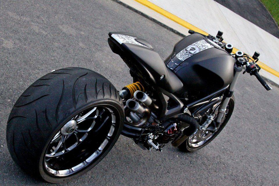 ducati monster 1100 ryan danger custom my bikes pinterest