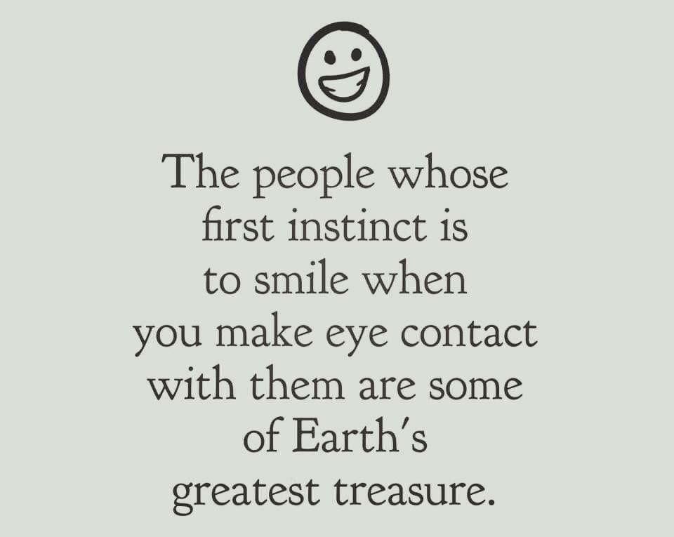 Their smile