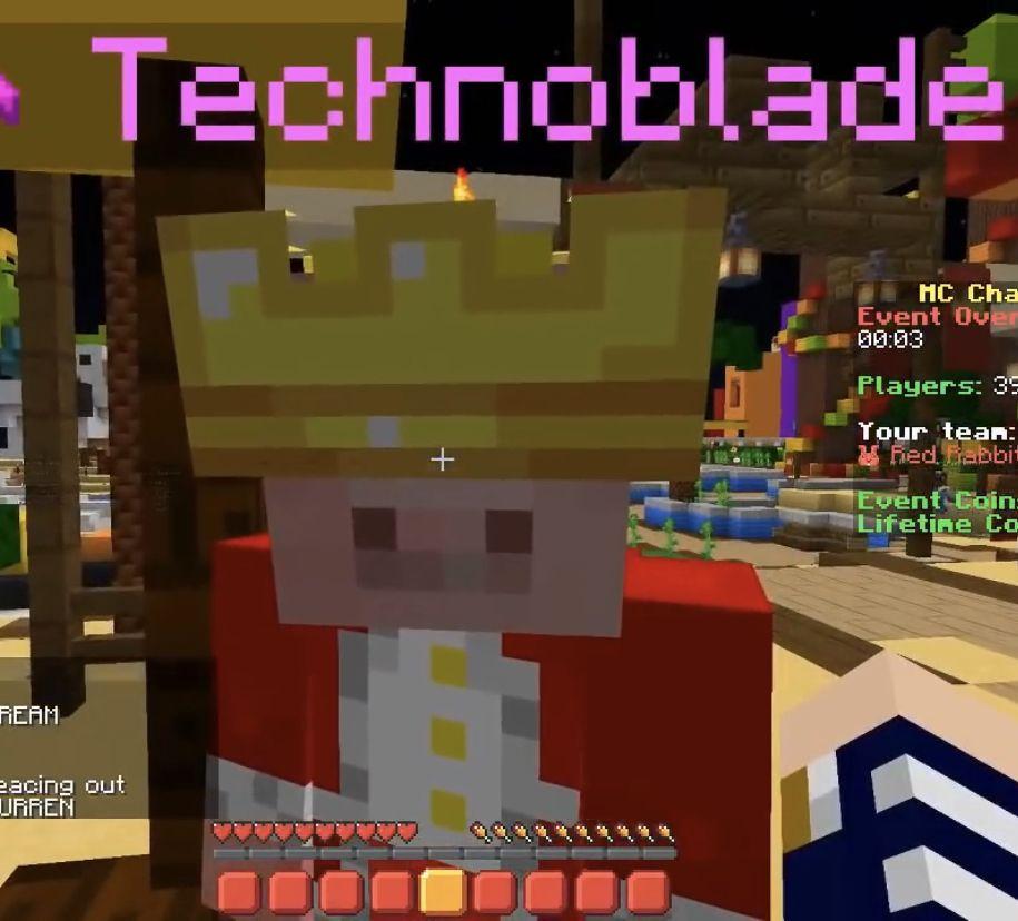Technoblade Dream Team Mc Skins Techno