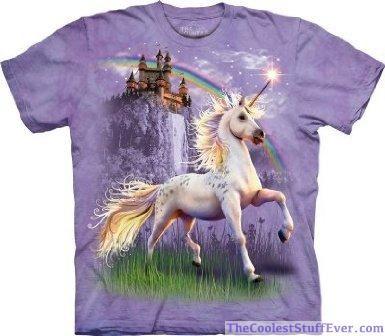 Fantasy Snow Unicorn Sweatshirt Choice of size /& colours.