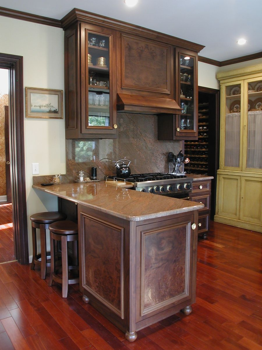 Walnut Kitchen Walnut Kitchen Kitchen Cherry Cabinets