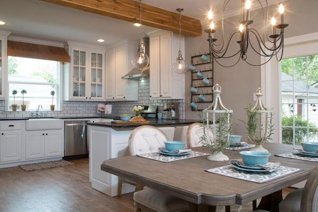 5 Of My Favorite Fixer Upper Kitchens