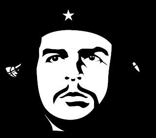 Derecha America Latina Che Guevara La Farsa Marxista Arte De Silueta Che Guevara Arte De Protesta