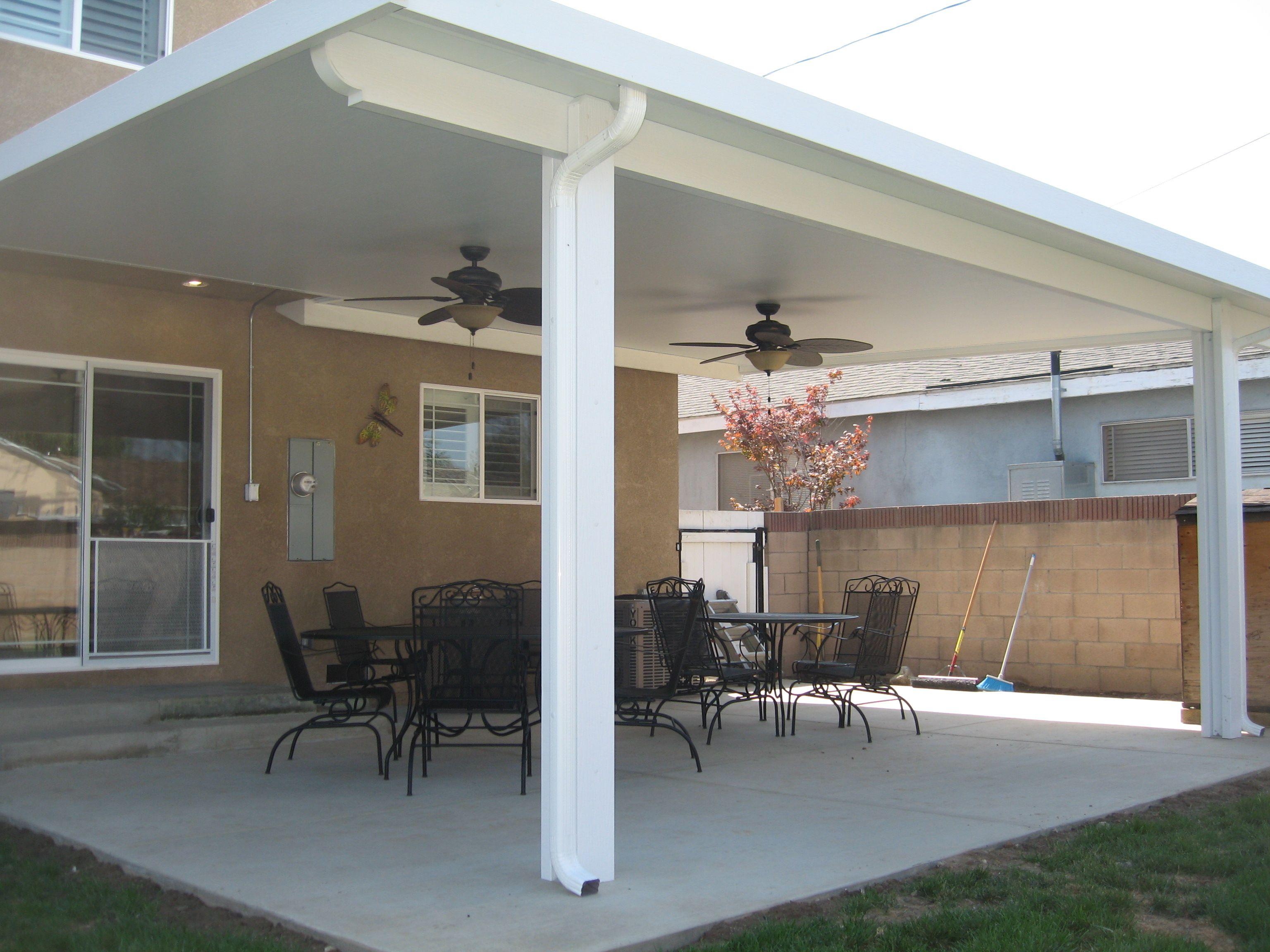 insulated aluminum patio covers wood
