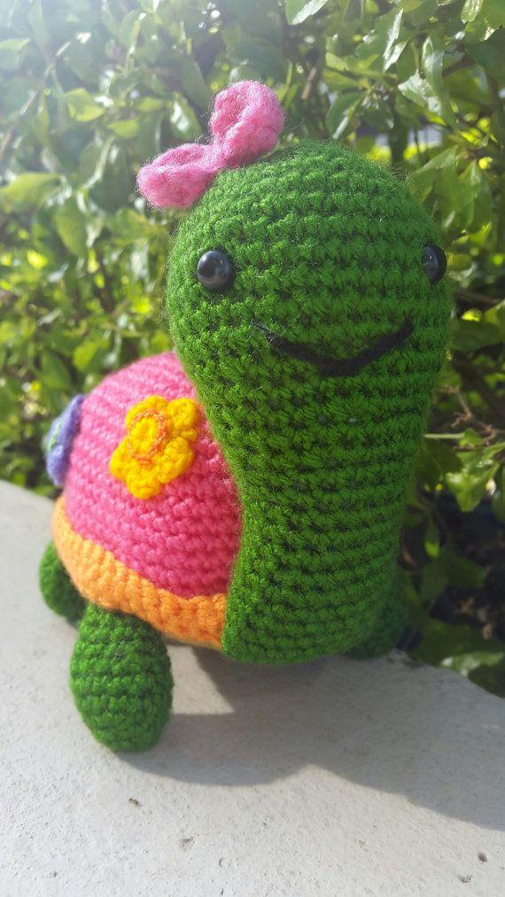 Tortuga Crochet Amigurumi Patron Paso a Paso version español