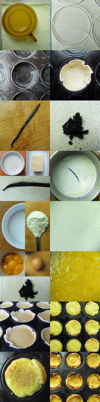 Pastel de nata recipe