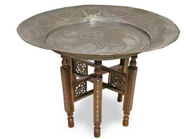 15 orientalische Möbel marokkanische Tische