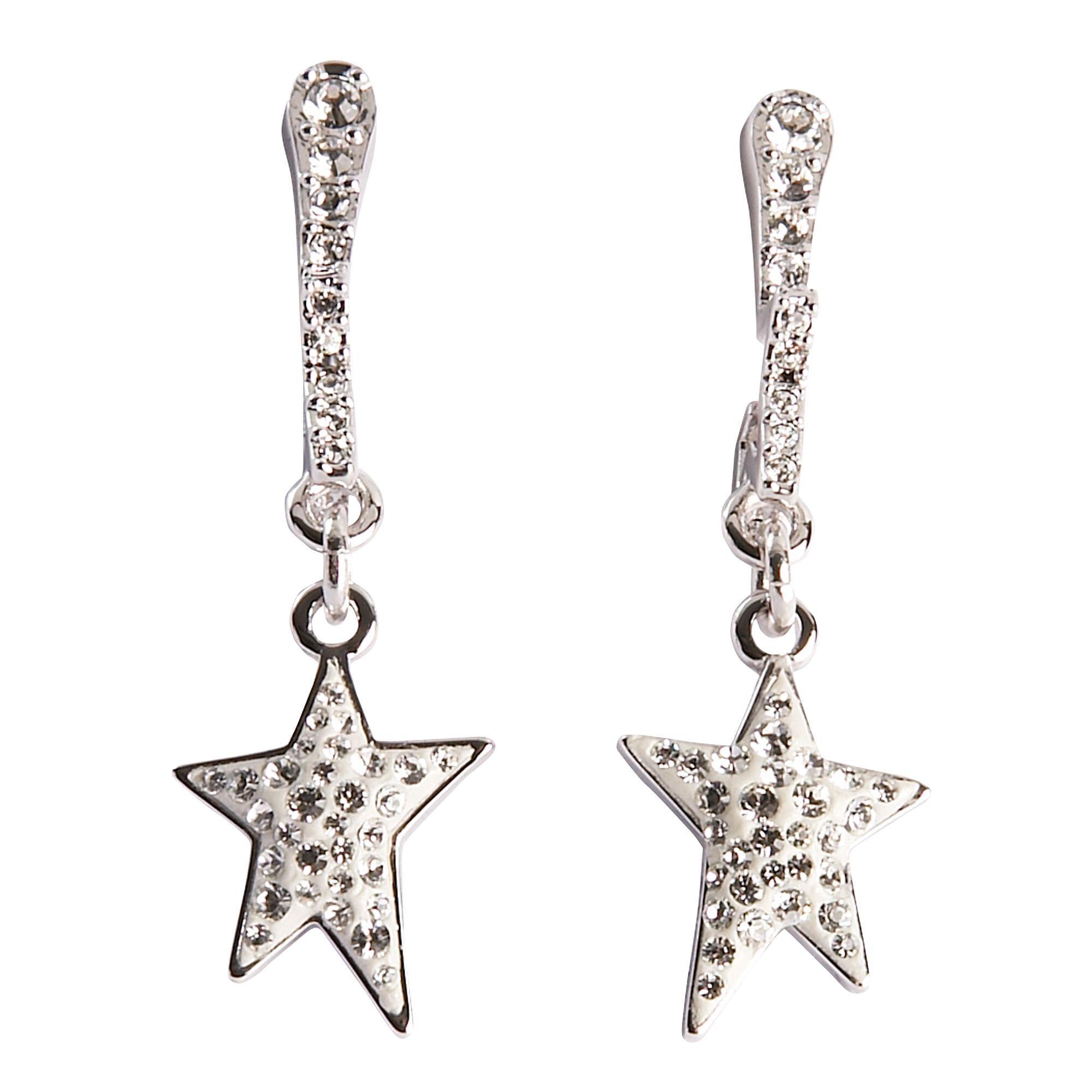 Swarovski Crystal Earrings Flicker Long