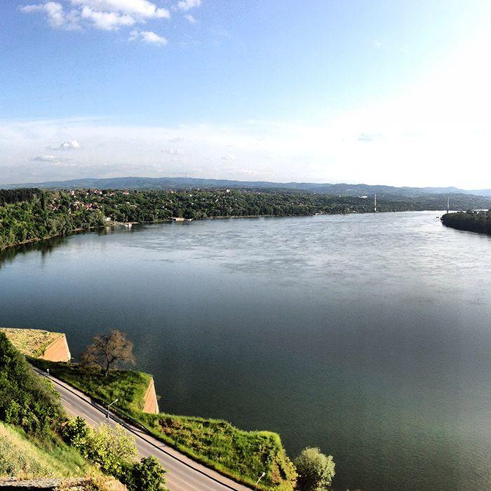 Danube, Novi Sad. Serbia