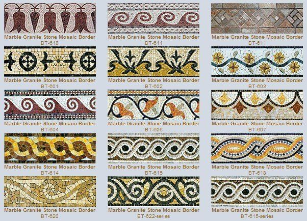 roman mosaic patterns designs - google search | dragonfly project, Hause deko