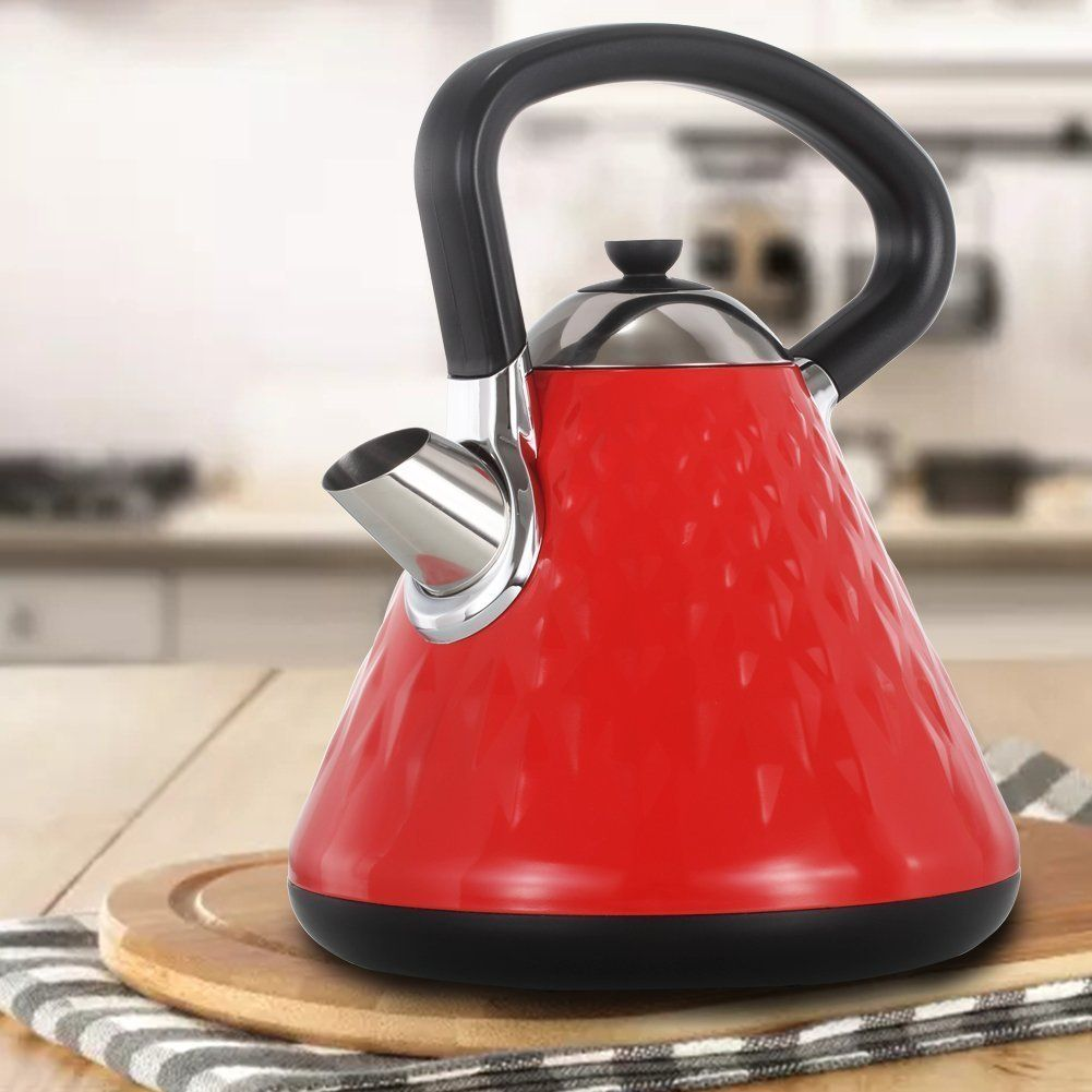 Fortune Candy Electric Kettle 1 7l Cordless Stainless Steel Over Drip Fast Safe Coffee Tea Kettle Pot Cool Tough Bpa Free Aut Tea Kettle Kettle Electric Kettle