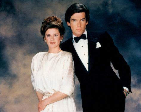 Pierce Brosnan and Stephanie Zimbalist- Remington Steele..