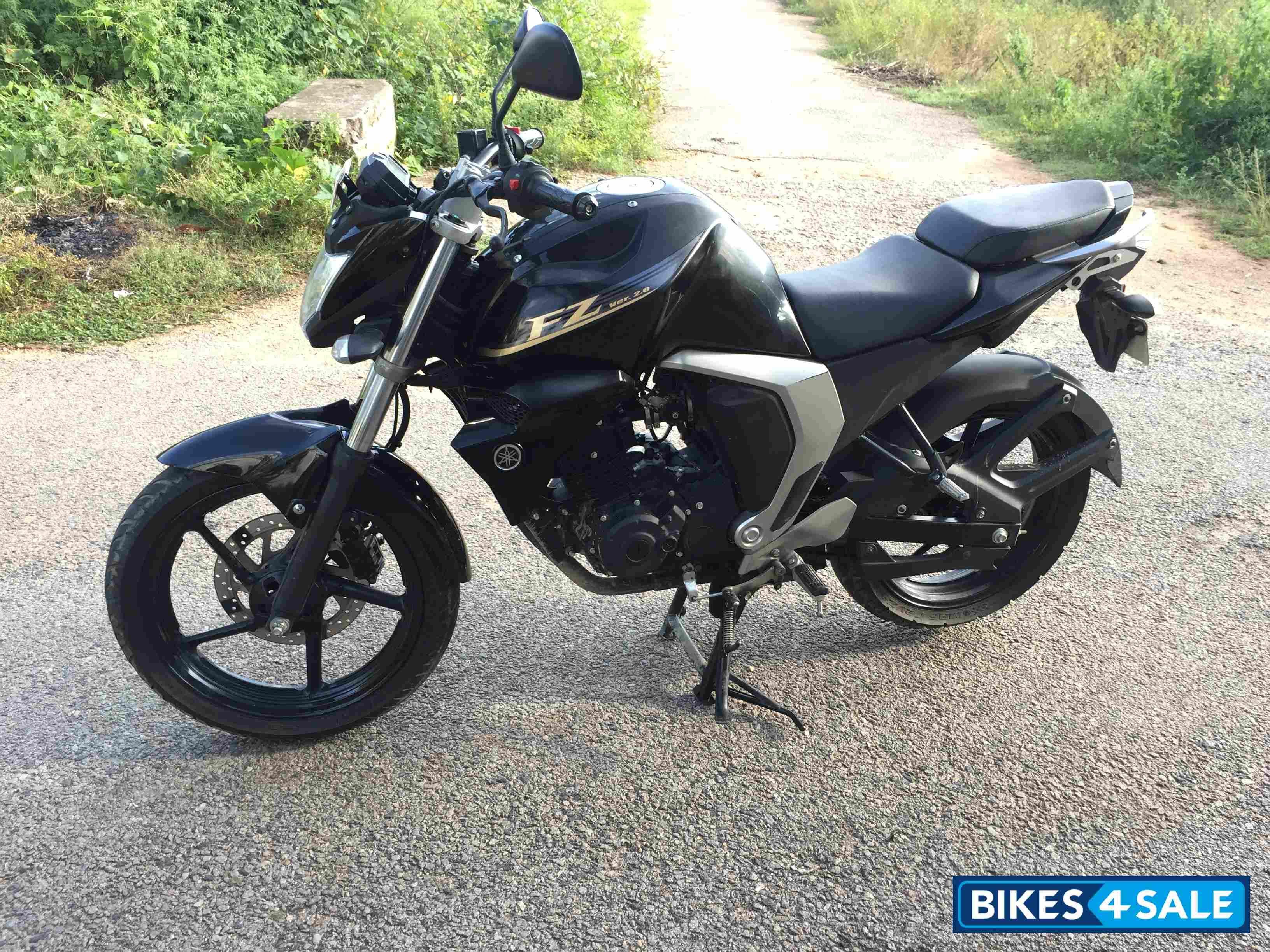 Black Yamaha Fz Fi V2 Autos Motos