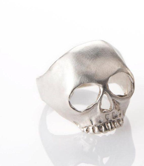 skull ring by mayageller on Etsy, $105.00