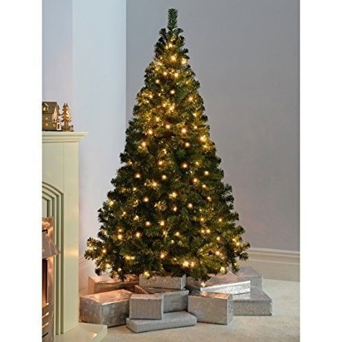 Artificial Christmas Tree 6ft Traditional indoor Decorations Xmas
