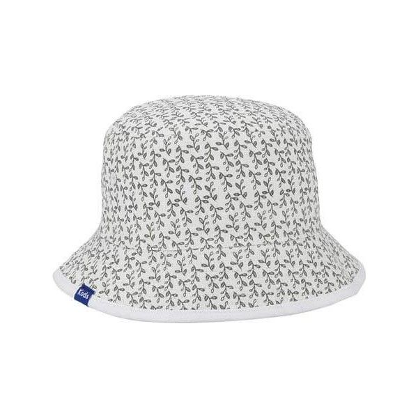 0686305470e Women s Keds Pattern Reversible Bucket Hat - Pineapple ( 33) ❤ liked on  Polyvore featuring accessories