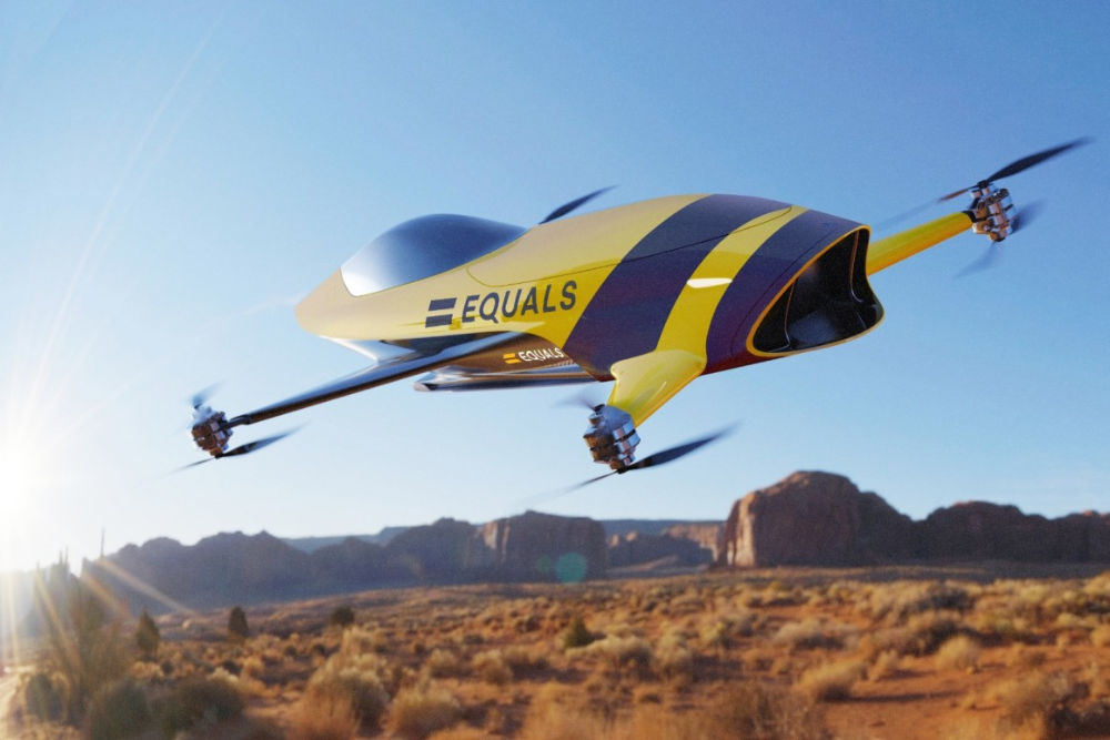 Airspeeder series to debut 120mph, headtohead, manned