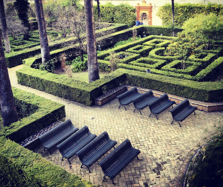 Jardines y laberintos vegetales como en los palacios de la reina de corazones de alicia - Jardines de la reina ...