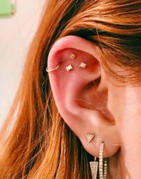 The Latest Piercing Trend? Constellation Clusters