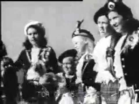 Highland dancing documentary 1950s - YouTube | Highland Dance