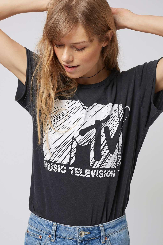 mtv t shirt topshop