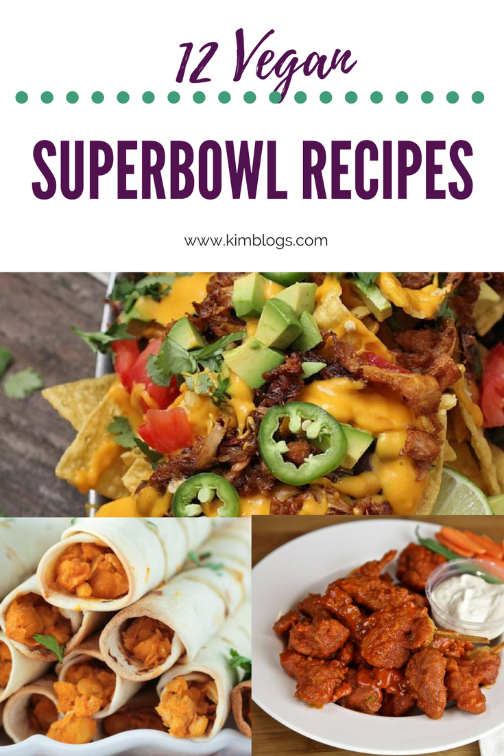 12 Easy Vegan Super Bowl Recipes Meals Vegan Recipes