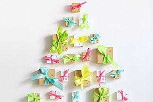 Neon Ribbon Advent Calendar