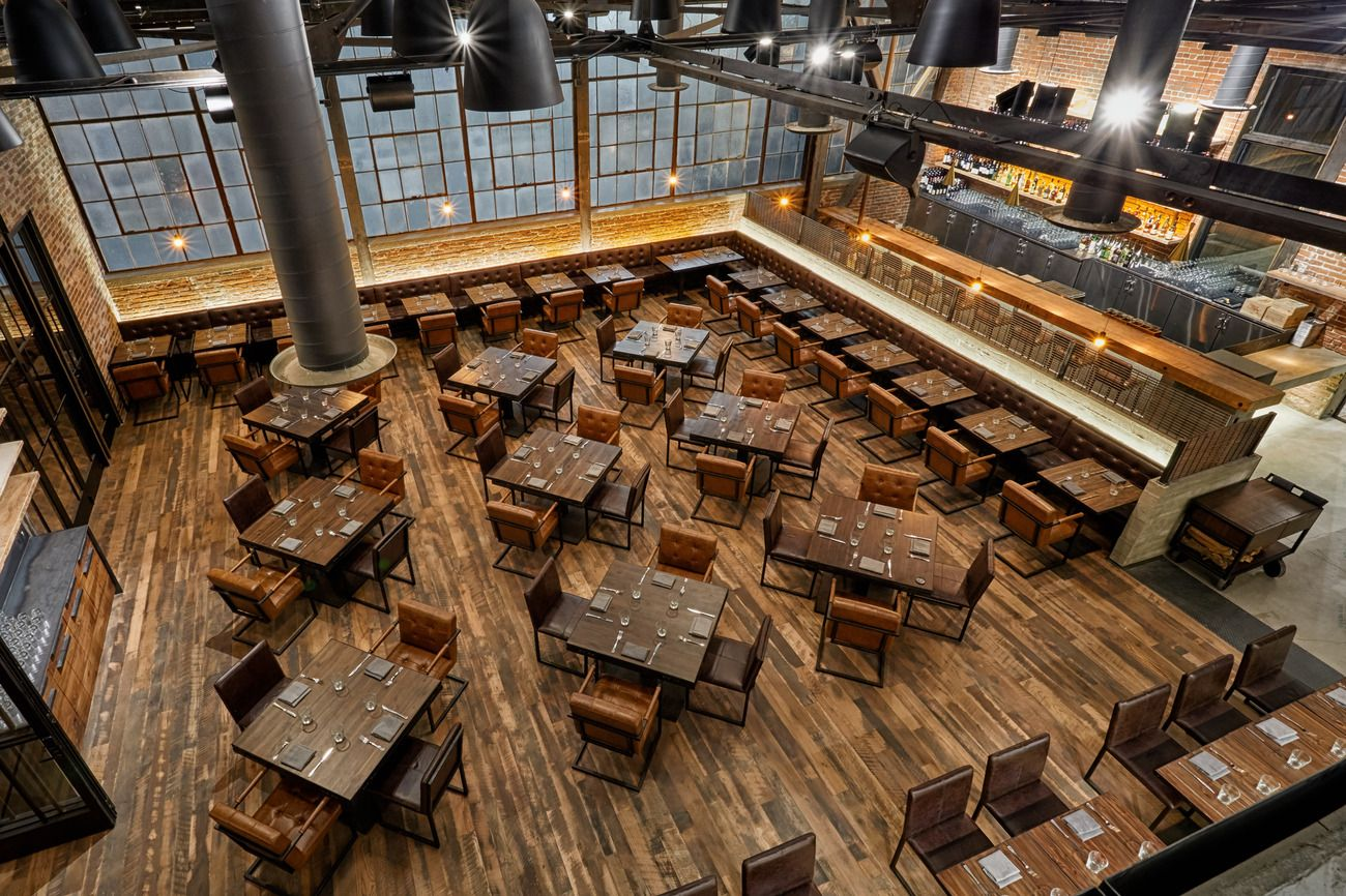 Officine Brera DTLA rustic Italian dining (With images