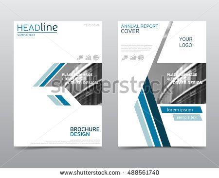 annual report cover brochure design flyer template leaflet layout