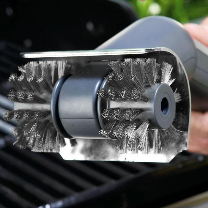 Replacement Brush Head For Motorized Grill