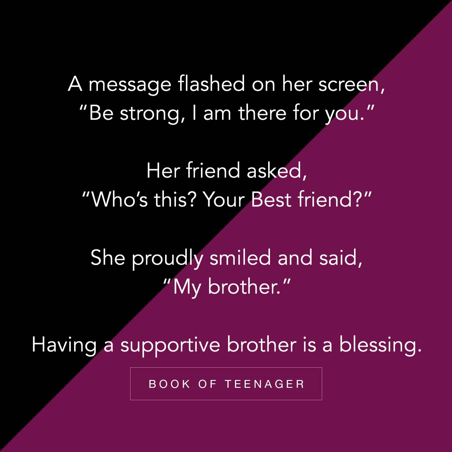 For More Amazing Posts Like This Follow Us On Instagram Bookofteenager Sister Quotes Funny Brother Sister Quotes Funny Bro And Sis Quotes