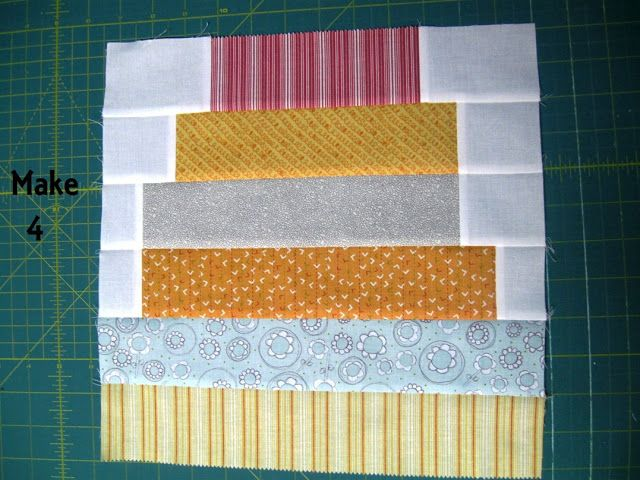 Read With Me Quilt « Moda Bake Shop  12 Repeat this step to make a total of 4 blocks each measuring 12 1/2″ x 12 1/2″.