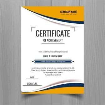 Free Download Certificate Of Achievement Templates Vectors Http