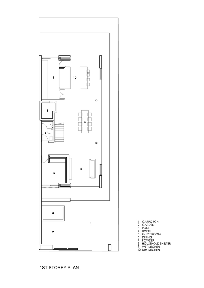 Gallery Of Open Ended House Wallflower Architecture Design 23 Architecture Architecture Design Design