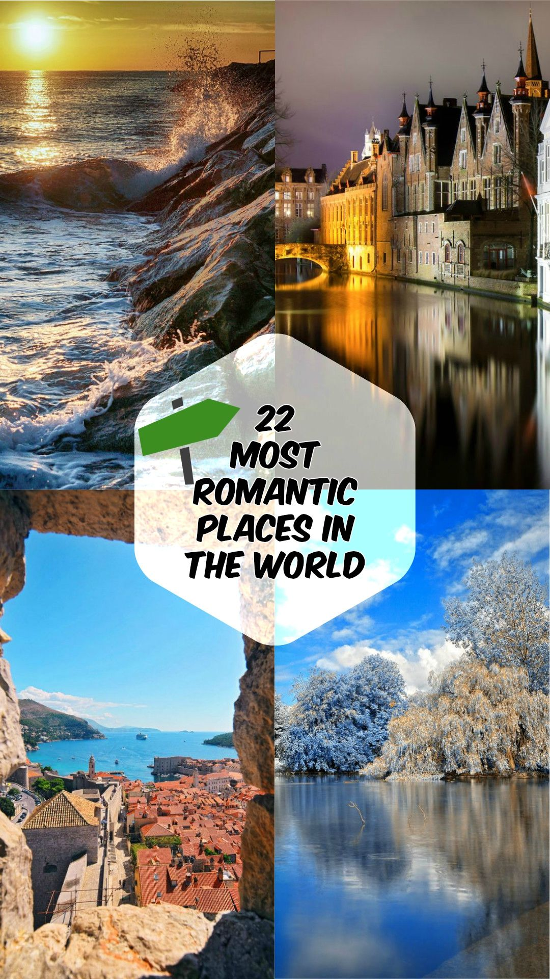22 most romantic places in the world | place's to go! | pinterest