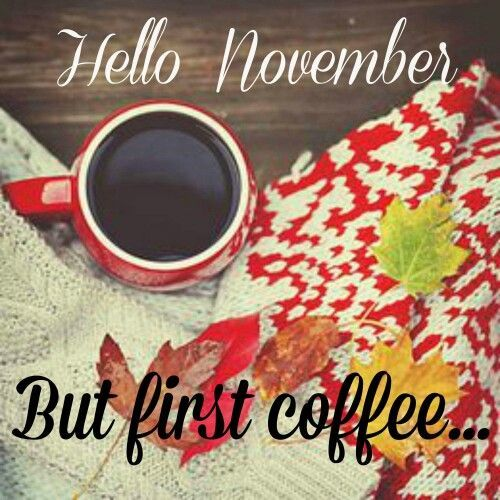 Hello November #hellonovembermonth Hello November #hellonovembermonth