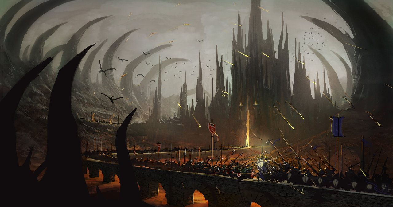 Battle for the Spire by Bob Kehl