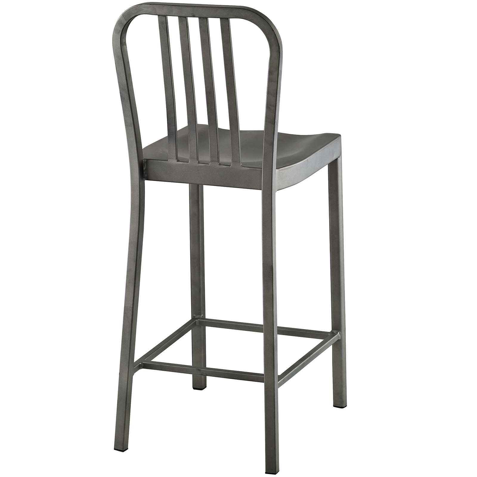Modway Furniture Modern Clink Counter Stool Set Of 2
