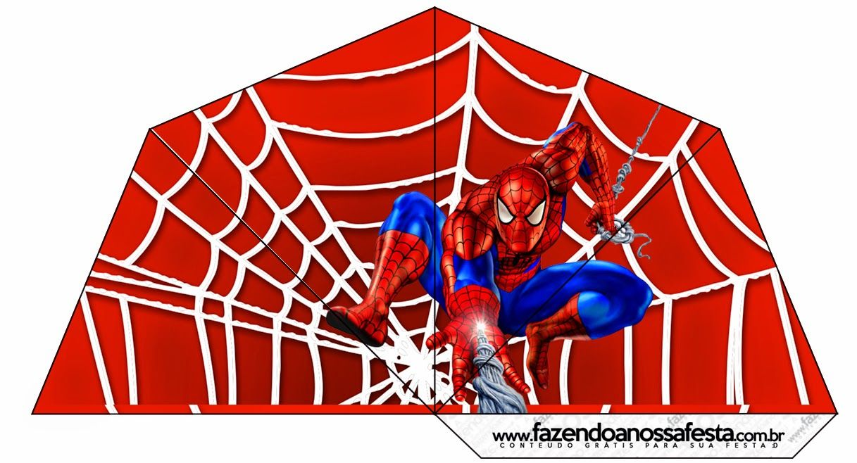 Spiderman: Free Party Printables and Images. This lady\'s site is ...